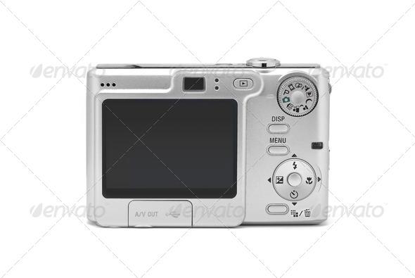 digital camera - Stock Photo - Images