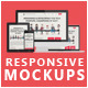 Flat Responsive Screen Mockups - GraphicRiver Item for Sale