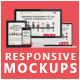 Flat Responsive Screen Mockups - GraphicRiver Item for Sale