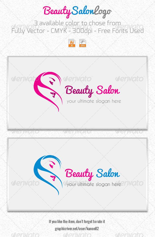 Beauty salon logo by matrixpixel graphicriver beauty salon logo symbols logo templates thecheapjerseys Gallery