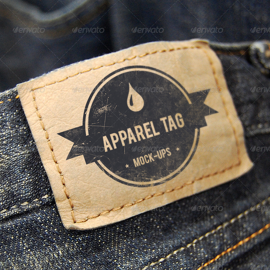 apparel tag mock ups v3 by pixelzombies graphicriver