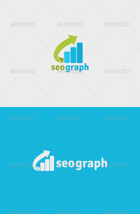 Seo Graph Logo by descarteshouston | GraphicRiver