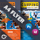 Camping Adventure Flyer Template - GraphicRiver Item for Sale