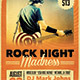 Rock Night Grunge Flyer - GraphicRiver Item for Sale