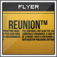 Reunion: A Drum and Bass Flyer/Poster  - GraphicRiver Item for Sale