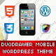 DuoDrawer Mobile | Mobile WordPress Theme - ThemeForest Item for Sale