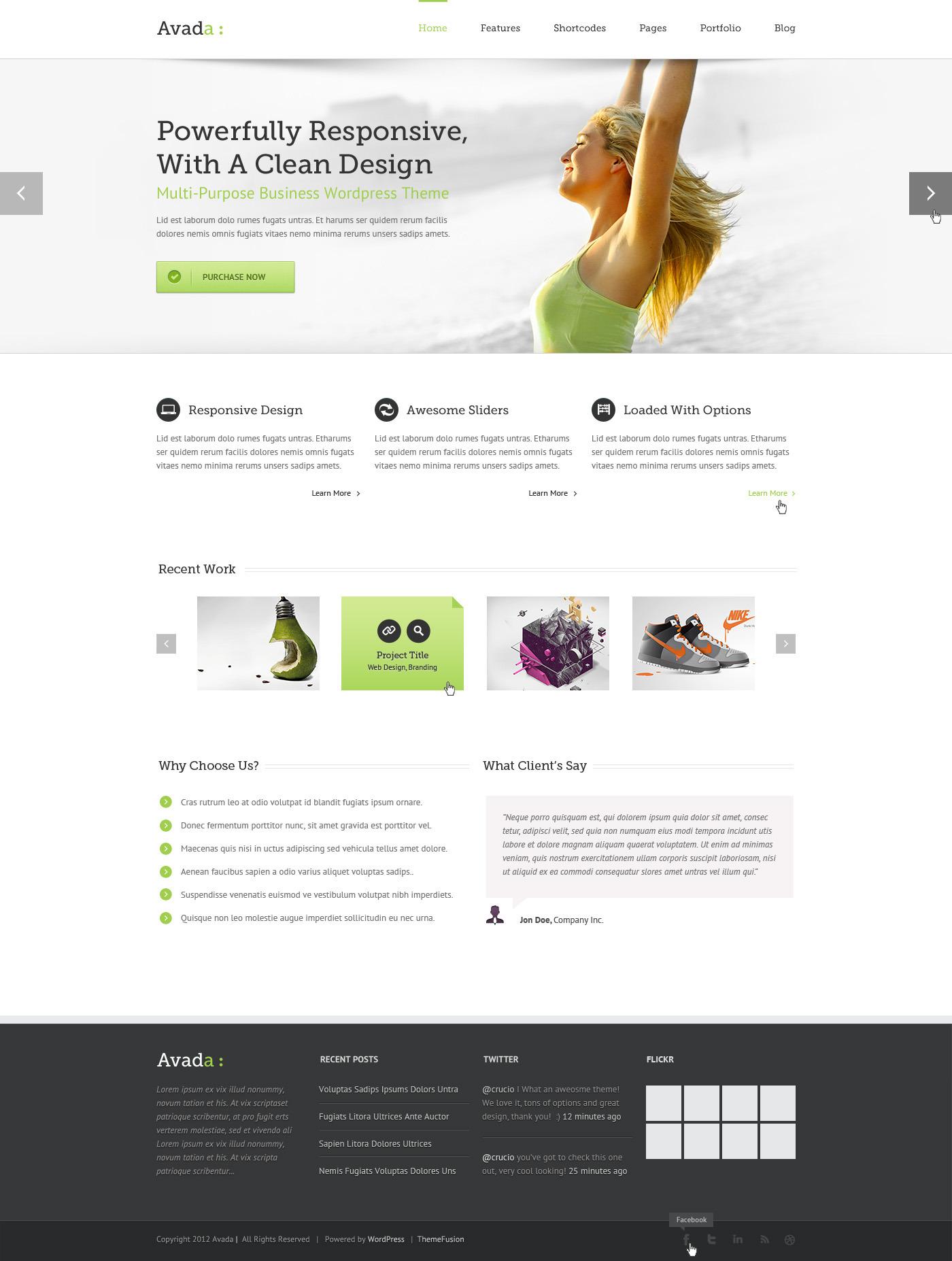 Avada | PSD by lbeck | ThemeForest