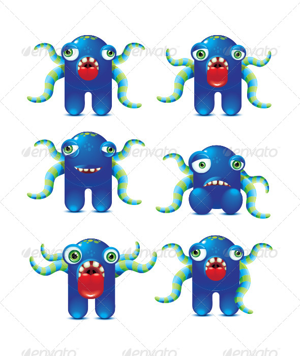 Monster Character - Monsters Characters