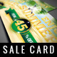 Summer Sale Card - GraphicRiver Item for Sale