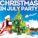 Christmas In July Flyer - GraphicRiver Item for Sale