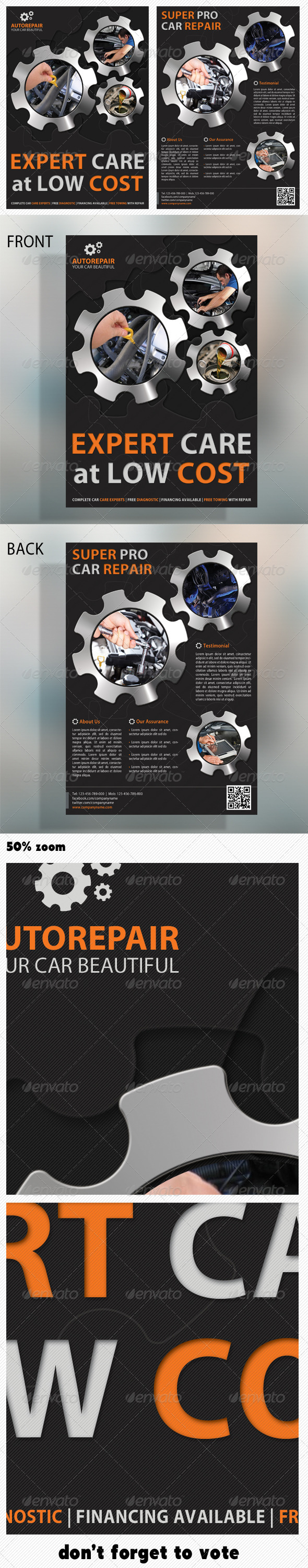 Corporate Product Flyer 11 - Corporate Flyers
