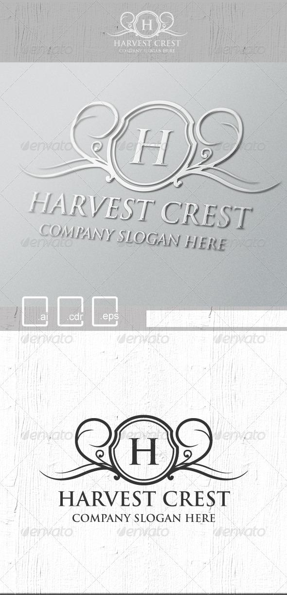 Harvest Crest Logo - Crests Logo Templates
