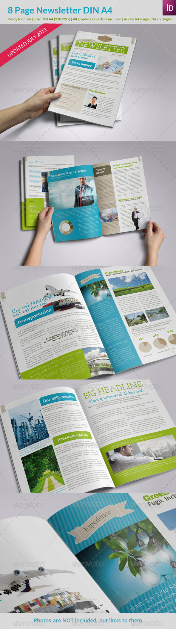 Newsletter Fresh Style - Newsletters Print Templates
