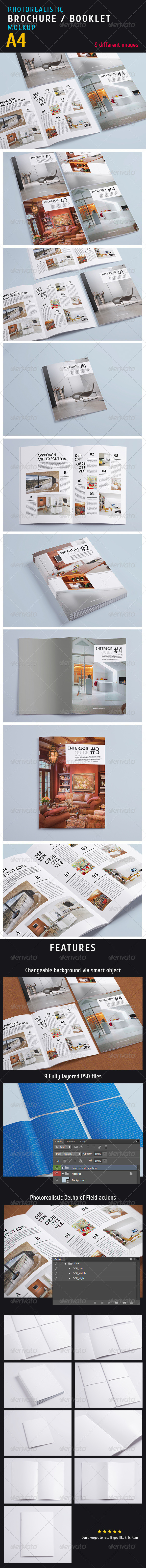 Magazine Mock-up Vol.1 - Print Product Mock-Ups