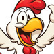 Happy Cartoon Chicken - GraphicRiver Item for Sale