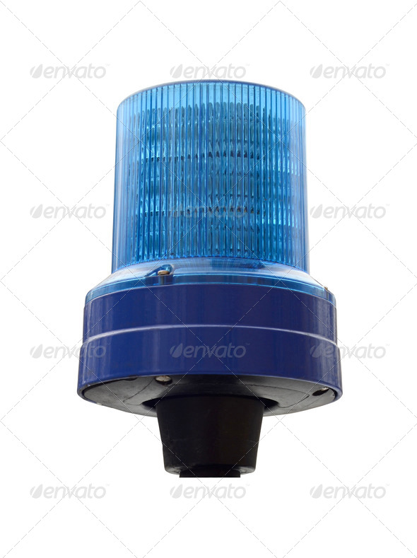Police light - Stock Photo - Images