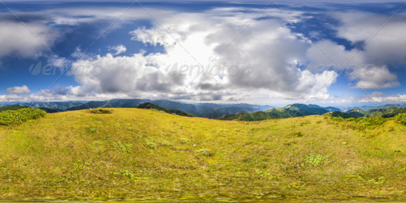 HDRI As Mountains And Clouds - 3DOcean Item for Sale