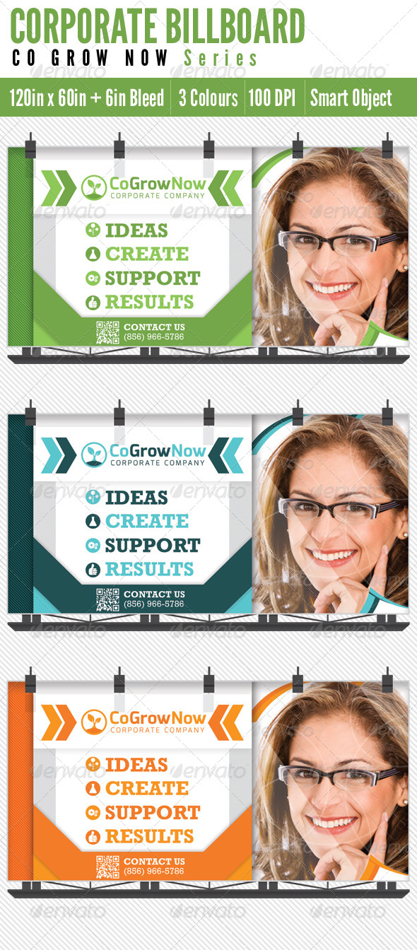 Billboard Corporate - Signage Print Templates
