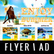 Travel Agency Flyer / Magazine Ad - GraphicRiver Item for Sale