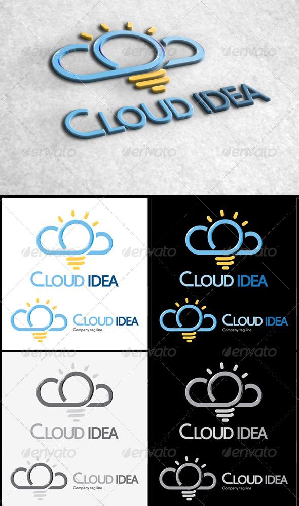 Cloud Idea - Logo Templates