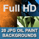 Oil Paint Backgrounds  - GraphicRiver Item for Sale