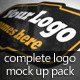 The Complete Logo Mock Ups Pack - GraphicRiver Item for Sale