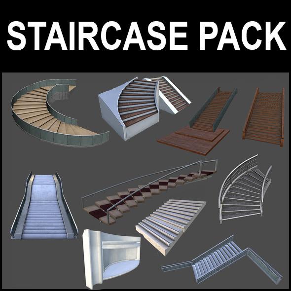 sweet home 3d models stairs design chip satisi blog model. Black Bedroom Furniture Sets. Home Design Ideas