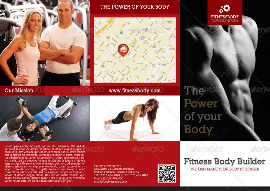 3 in 1 Fitness 3-Fold Brochure Bundle