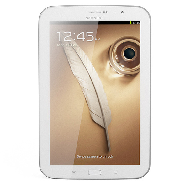 Samsung Galaxy Note 8.0 White - 3DOcean Item for Sale