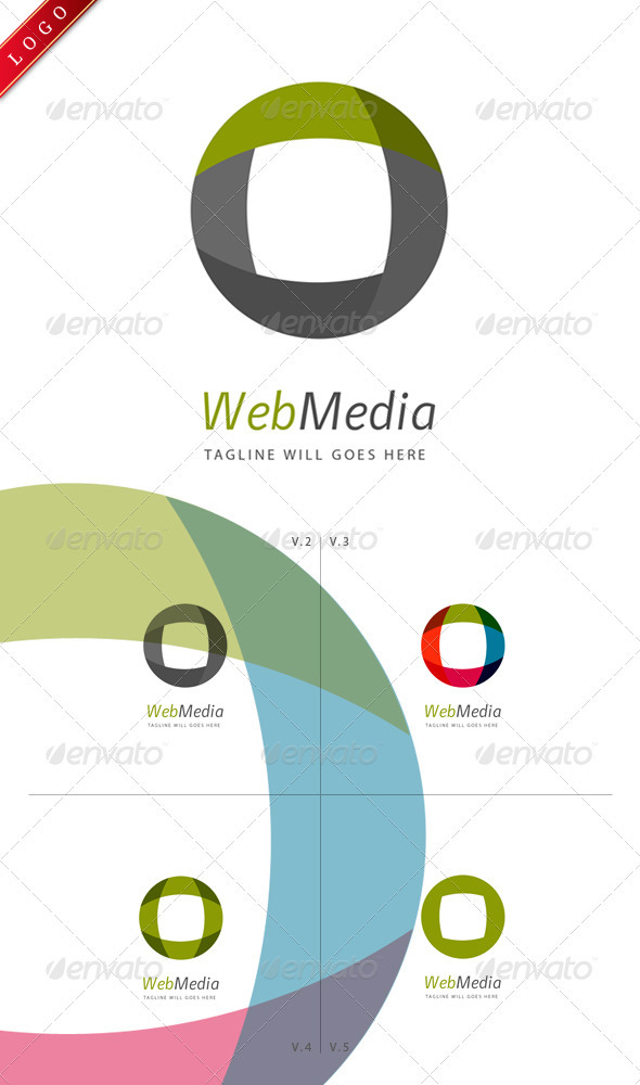 WebMedia Logo - Abstract Logo Templates