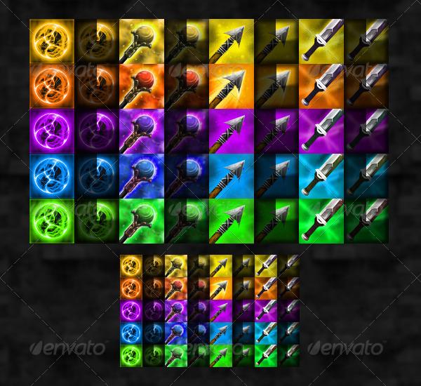 Simple Rpg Item Menu: RPG User Interface Bundle By WintersDesign