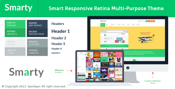 Smarty by spotlayer | ThemeForest