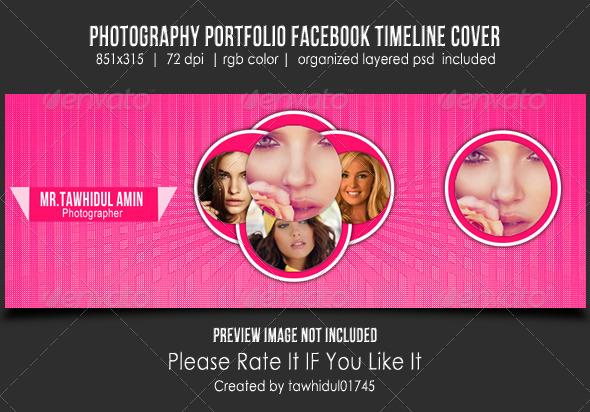 Photography Portfolio Facebook Timeline Cover - Facebook Timeline Covers Social Media