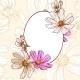 Vintage Floral Frame - GraphicRiver Item for Sale