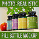 Photo-realistic Pill Bottles Mock-up - GraphicRiver Item for Sale
