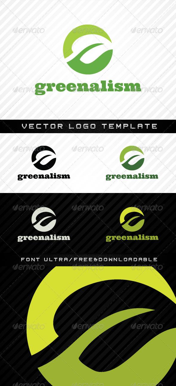 Greenalism - Vector Abstract