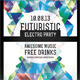 Futuristic Electro Party Flyer