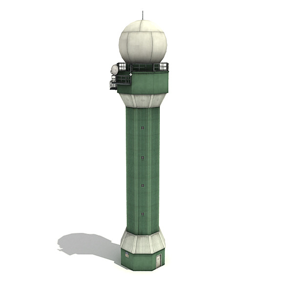Big Radar Tower - 3DOcean Item for Sale