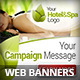 Hotel & Spa Campaign Web Banners - GraphicRiver Item for Sale