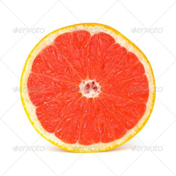 Fresh Grapefruit - Stock Photo - Images