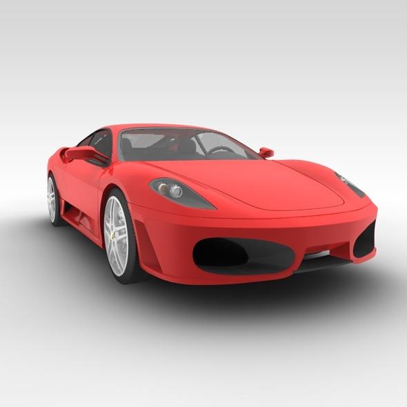 Ferrari f430 - 3DOcean Item for Sale
