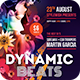 Dynamic Beats Flyer + Facebook Timeline - GraphicRiver Item for Sale