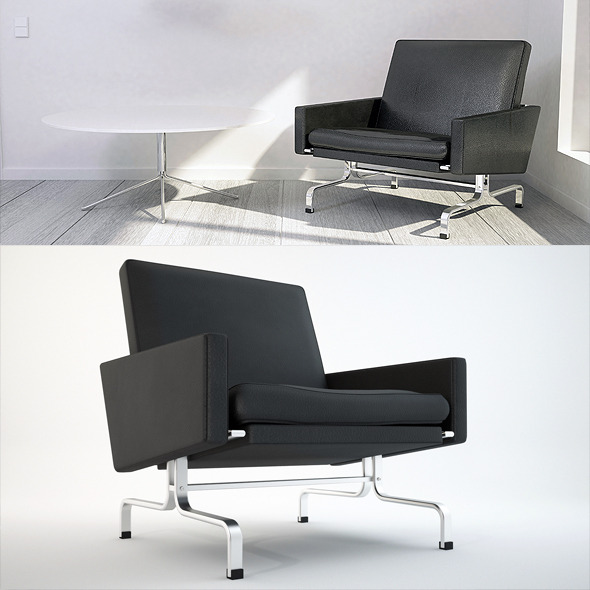 PK31 Design Chair - 3DOcean Item for Sale