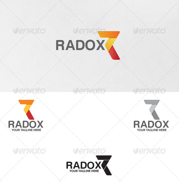 Letter R - Logo Template - Letters Logo Templates