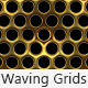 Waving Metal Grids - VideoHive Item for Sale