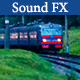 Train Arrives and Departs - AudioJungle Item for Sale