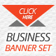 Elegant Business Banner Set - GraphicRiver Item for Sale