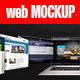 Website Showcase 3D Mockup - GraphicRiver Item for Sale