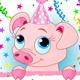 Piglet Birthday - GraphicRiver Item for Sale