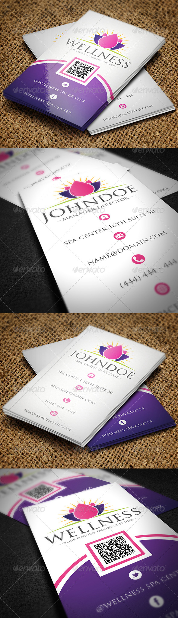 Spa Business Card by BossTwinsMusic | GraphicRiver
